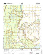 Snow Lake Arkansas Current topographic map, 1:24000 scale, 7.5 X 7.5 Minute, Year 2014 from Arkansas Map Store