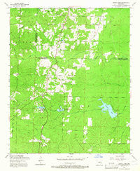 Spring Lake Arkansas Historical topographic map, 1:24000 scale, 7.5 X 7.5 Minute, Year 1954