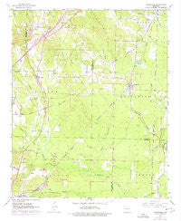 Traskwood Arkansas Historical topographic map, 1:24000 scale, 7.5 X 7.5 Minute, Year 1963