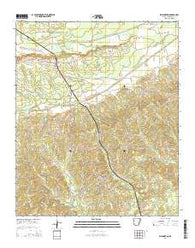 Washington Arkansas Current topographic map, 1:24000 scale, 7.5 X 7.5 Minute, Year 2014