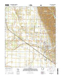 West Helena Arkansas Current topographic map, 1:24000 scale, 7.5 X 7.5 Minute, Year 2014