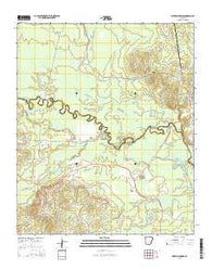 Whelen Springs Arkansas Current topographic map, 1:24000 scale, 7.5 X 7.5 Minute, Year 2014