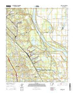 White Hall Arkansas Current topographic map, 1:24000 scale, 7.5 X 7.5 Minute, Year 2014 from Arkansas Map Store