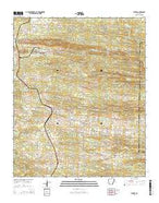Wickes Arkansas Current topographic map, 1:24000 scale, 7.5 X 7.5 Minute, Year 2014 from Arkansas Map Store