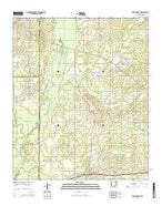 Wilmar North Arkansas Current topographic map, 1:24000 scale, 7.5 X 7.5 Minute, Year 2014 from Arkansas Map Store