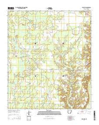 Wilmot NW Arkansas Current topographic map, 1:24000 scale, 7.5 X 7.5 Minute, Year 2014