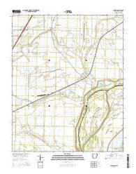 Wilson Arkansas Current topographic map, 1:24000 scale, 7.5 X 7.5 Minute, Year 2014