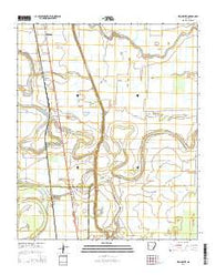 Winchester Arkansas Current topographic map, 1:24000 scale, 7.5 X 7.5 Minute, Year 2014