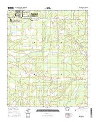 Woodberry Arkansas Current topographic map, 1:24000 scale, 7.5 X 7.5 Minute, Year 2014