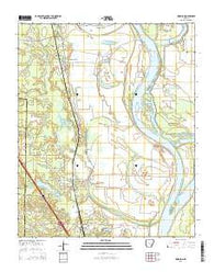 Woodson Arkansas Current topographic map, 1:24000 scale, 7.5 X 7.5 Minute, Year 2014