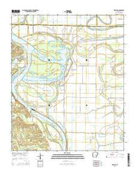 Wright Arkansas Current topographic map, 1:24000 scale, 7.5 X 7.5 Minute, Year 2014