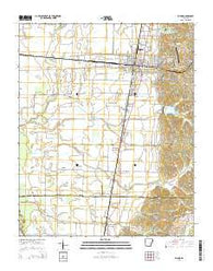 Wynne Arkansas Current topographic map, 1:24000 scale, 7.5 X 7.5 Minute, Year 2014