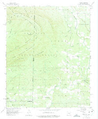 Zafra Oklahoma Historical topographic map, 1:24000 scale, 7.5 X 7.5 Minute, Year 1958