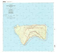 Manua Islands East American Samoa Historical topographic map, 1:24000 scale, 7.5 X 7.5 Minute, Year 2001