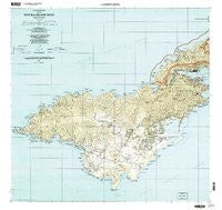 Tutuila Island West American Samoa Historical topographic map, 1:24000 scale, 7.5 X 7.5 Minute, Year 2001