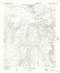 Adamana 4 SE Arizona Historical topographic map, 1:24000 scale, 7.5 X 7.5 Minute, Year 1955