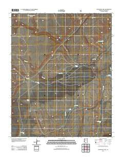 Additional Hill Arizona Historical topographic map, 1:24000 scale, 7.5 X 7.5 Minute, Year 2012