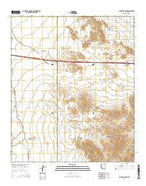 Antelope Peak Arizona Current topographic map, 1:24000 scale, 7.5 X 7.5 Minute, Year 2014 from Arizona Map Store