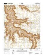 Antelope Point Arizona Current topographic map, 1:24000 scale, 7.5 X 7.5 Minute, Year 2014 from Arizona Map Store