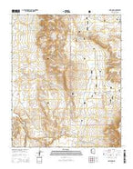 Anvil Rock Arizona Current topographic map, 1:24000 scale, 7.5 X 7.5 Minute, Year 2014 from Arizona Map Store