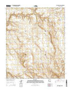 Anvil Rock Ranch Arizona Current topographic map, 1:24000 scale, 7.5 X 7.5 Minute, Year 2014 from Arizona Map Store
