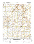 Arrowhead Butte NE Arizona Current topographic map, 1:24000 scale, 7.5 X 7.5 Minute, Year 2014 from Arizona Map Store