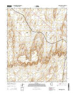 Arrowhead Mesa Arizona Current topographic map, 1:24000 scale, 7.5 X 7.5 Minute, Year 2014 from Arizona Map Store