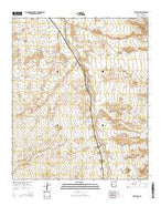 Artesia NE Arizona Current topographic map, 1:24000 scale, 7.5 X 7.5 Minute, Year 2014 from Arizona Map Store