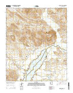 Artillery Peak Arizona Current topographic map, 1:24000 scale, 7.5 X 7.5 Minute, Year 2014 from Arizona Map Store
