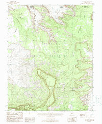 Big Point Arizona Historical topographic map, 1:24000 scale, 7.5 X 7.5 Minute, Year 1988