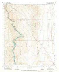 Black Canyon Arizona Historical topographic map, 1:62500 scale, 15 X 15 Minute, Year 1959