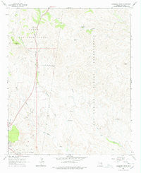 Cammerman Wash Arizona Historical topographic map, 1:24000 scale, 7.5 X 7.5 Minute, Year 1966