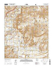 Camp Verde Arizona Current topographic map, 1:24000 scale, 7.5 X 7.5 Minute, Year 2014 from Arizona Maps Store