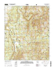 Camp Wood Arizona Current topographic map, 1:24000 scale, 7.5 X 7.5 Minute, Year 2014 from Arizona Maps Store