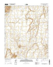 Campbell Francis Wash Arizona Current topographic map, 1:24000 scale, 7.5 X 7.5 Minute, Year 2014 from Arizona Maps Store