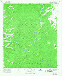 Carrizo SE Arizona Historical topographic map, 1:24000 scale, 7.5 X 7.5 Minute, Year 1966