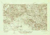 Cave Creek Arizona Historical topographic map, 1:96000 scale, 30 X 30 Minute, Year 1930