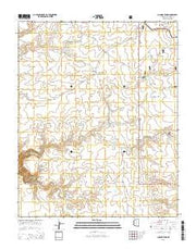 Chamisa Tank Arizona Current topographic map, 1:24000 scale, 7.5 X 7.5 Minute, Year 2014 from Arizona Maps Store