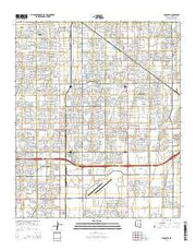 Chandler Arizona Current topographic map, 1:24000 scale, 7.5 X 7.5 Minute, Year 2014 from Arizona Maps Store