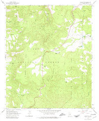 Chrysotile Arizona Historical topographic map, 1:24000 scale, 7.5 X 7.5 Minute, Year 1966