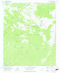 Cone Butte Arizona Historical topographic map, 1:24000 scale, 7.5 X 7.5 Minute, Year 1978
