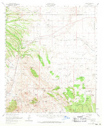 Elgin Arizona Historical topographic map, 1:62500 scale, 15 X 15 Minute, Year 1958