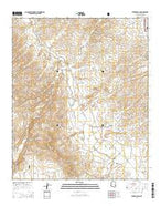 Eureka Ranch Arizona Current topographic map, 1:24000 scale, 7.5 X 7.5 Minute, Year 2014 from Arizona Map Store