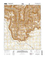 Explorers Monument Arizona Current topographic map, 1:24000 scale, 7.5 X 7.5 Minute, Year 2014 from Arizona Map Store