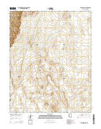 Explosive Rock Arizona Current topographic map, 1:24000 scale, 7.5 X 7.5 Minute, Year 2014 from Arizona Map Store