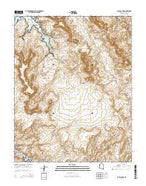 Face Canyon Arizona Current topographic map, 1:24000 scale, 7.5 X 7.5 Minute, Year 2014 from Arizona Map Store