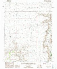 Findlay Tank Arizona Historical topographic map, 1:24000 scale, 7.5 X 7.5 Minute, Year 1988
