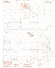 Forepaugh Peak Arizona Historical topographic map, 1:24000 scale, 7.5 X 7.5 Minute, Year 1990