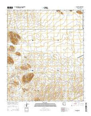 Gillespie Arizona Current topographic map, 1:24000 scale, 7.5 X 7.5 Minute, Year 2014 from Arizona Maps Store