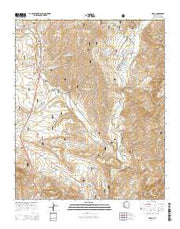 Gisela Arizona Current topographic map, 1:24000 scale, 7.5 X 7.5 Minute, Year 2014 from Arizona Maps Store